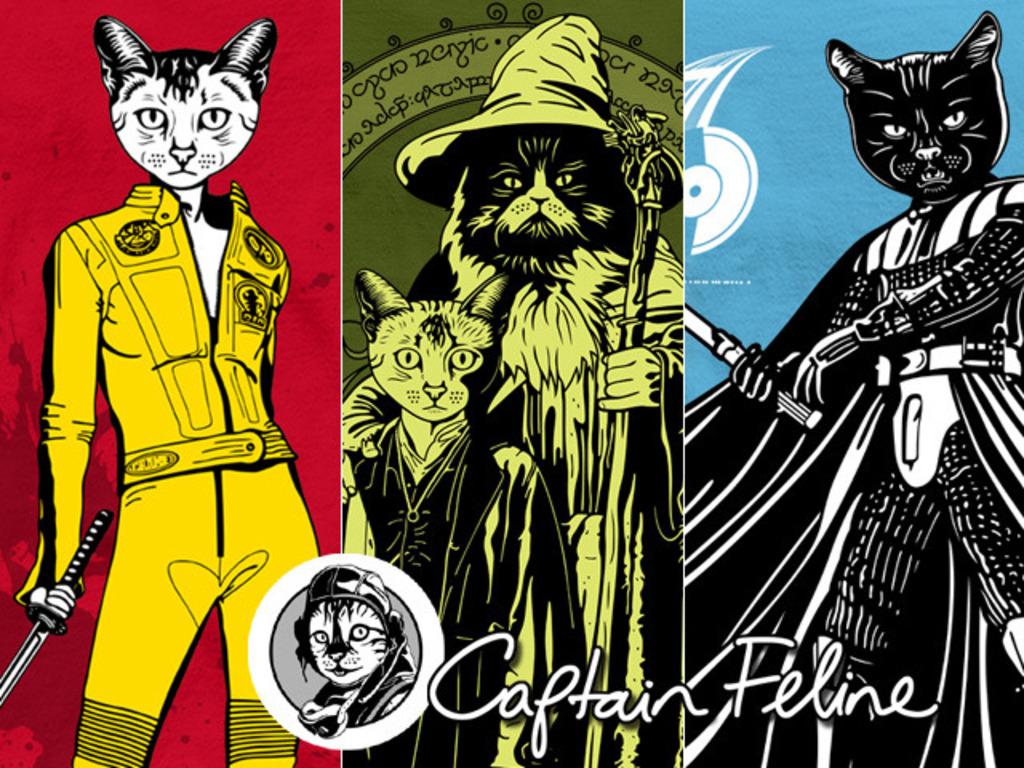 Captain Feline T-Shirts Debut's video poster