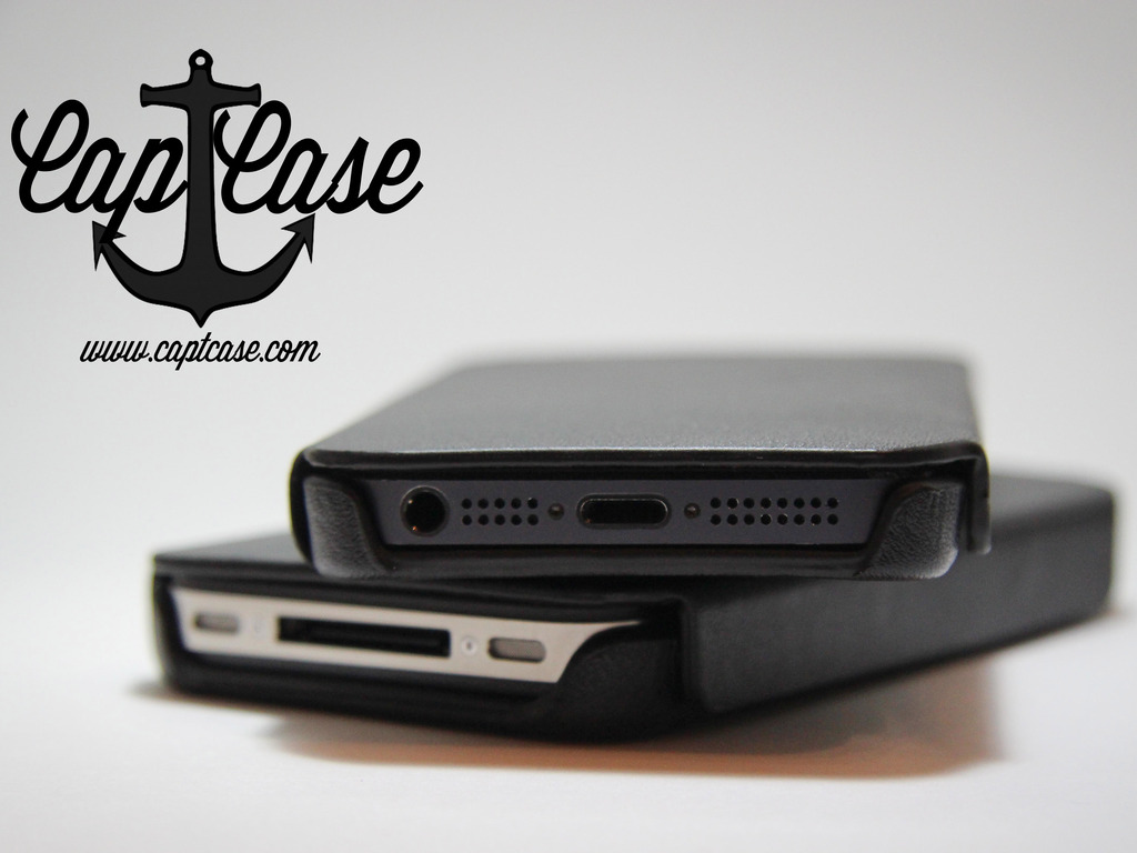 CaptCase - Sleek & Slim Premium Leather Case for the iPhone's video poster