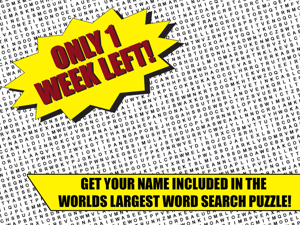 Worlds Largest Word Search Puzzle's video poster
