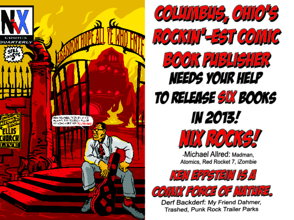 Nix Comics 2013:  It's The Big Ask, Baby!'s video poster