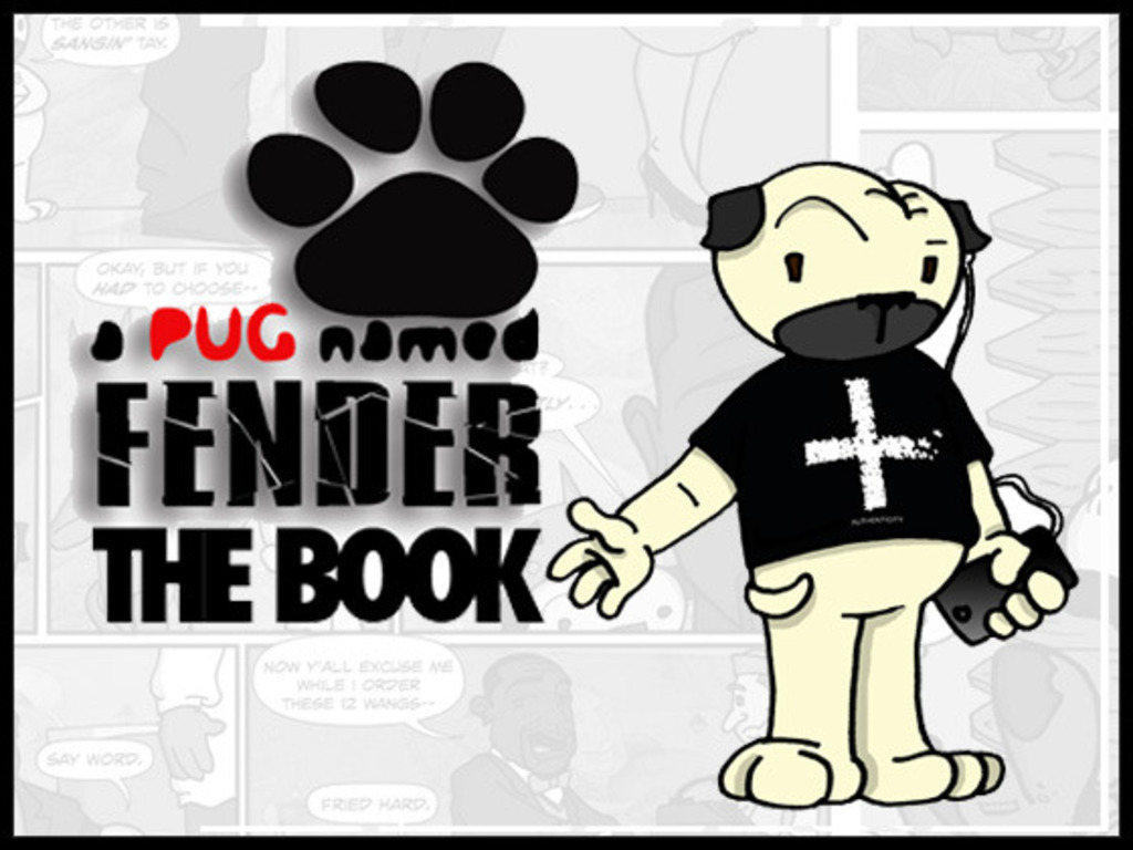 A Pug Named Fender • The Book's video poster