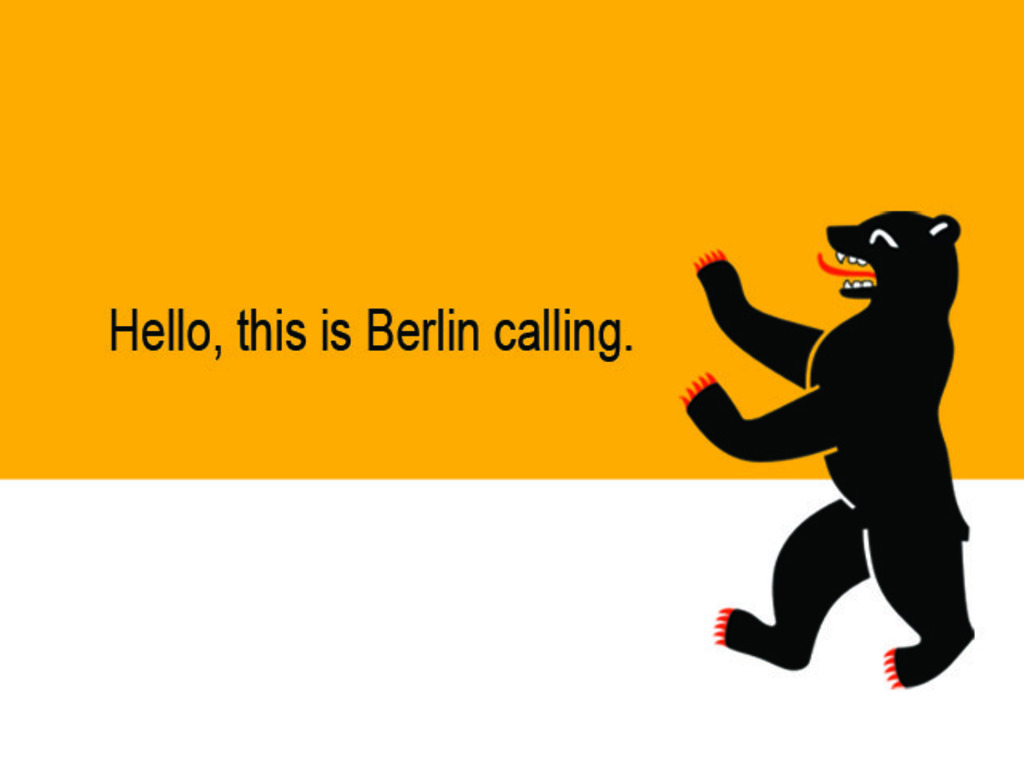 Berlin Calling: An International Exhibition Opportunity's video poster