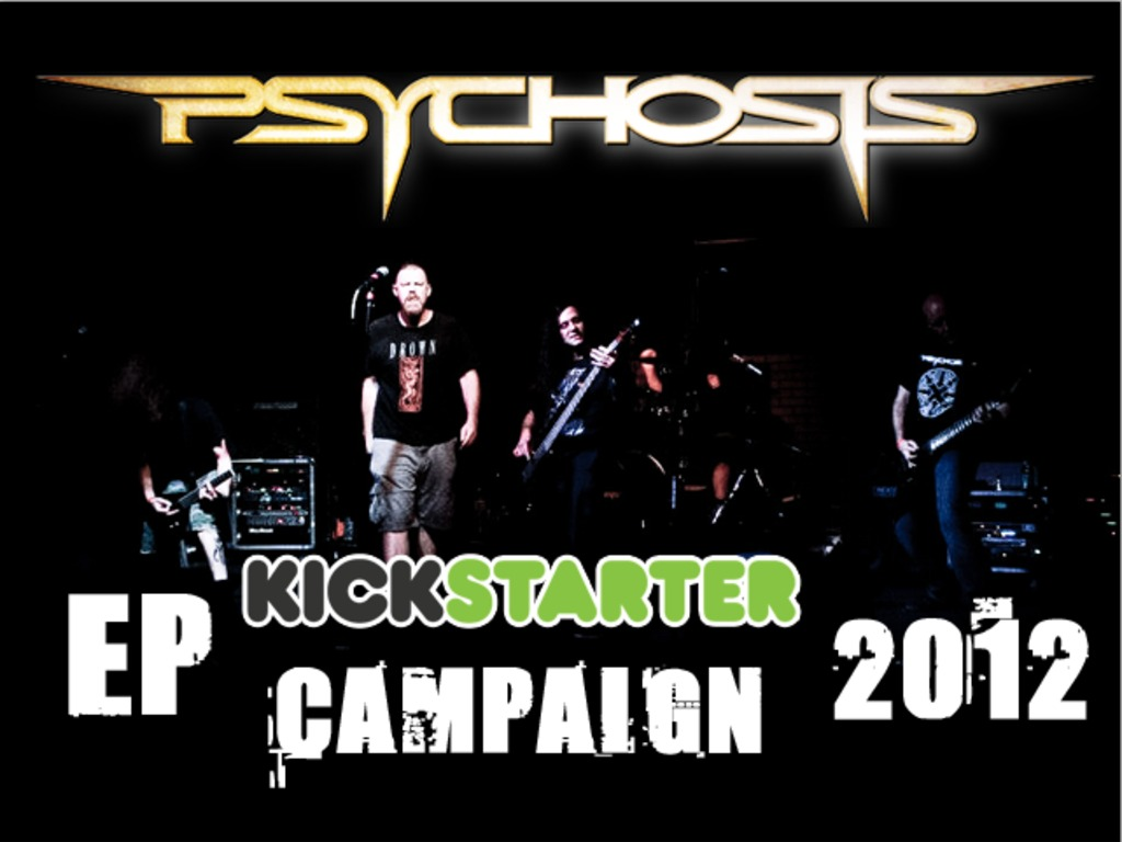 """PSYCHOSIS """"BY OUR HAND"""" EP's video poster"""
