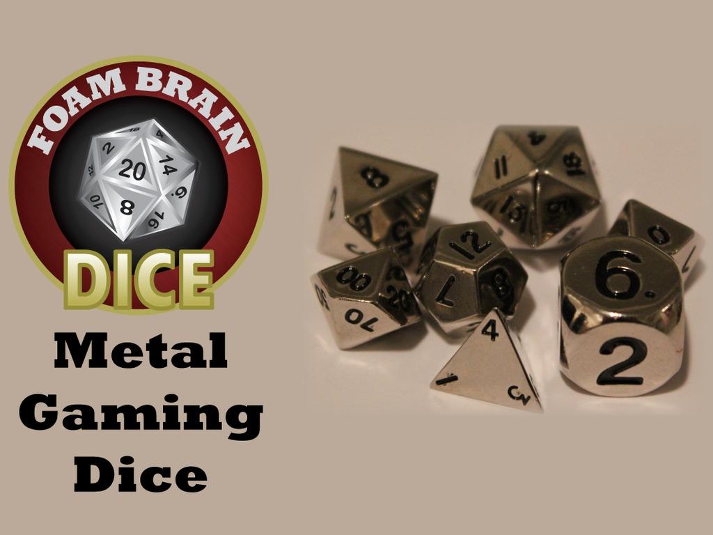 Foam Brain Dice: Metals's video poster