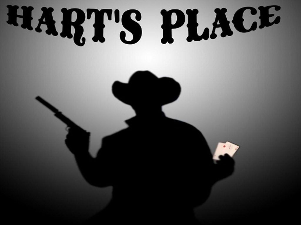 """Hart's Place"" a 20th Century Crime/Western's video poster"
