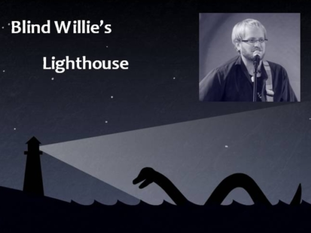 I'm recording a new studio CD - Blind Willie's Lighthouse's video poster