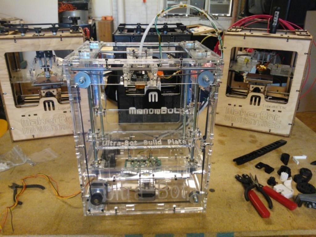 Ultra-Bot 3D Printer's video poster