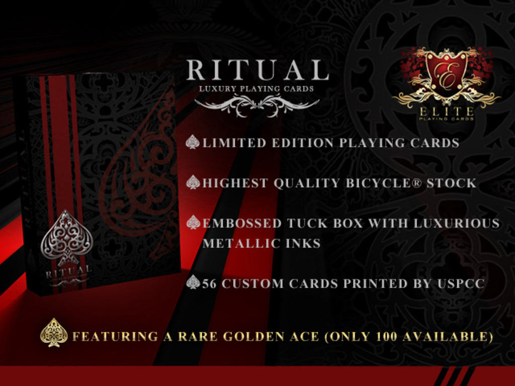RITUAL Playing Cards Deck by Elite Playing Cards's video poster