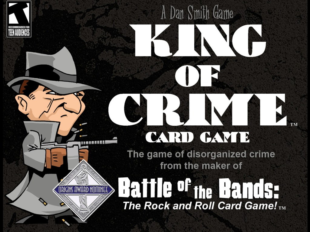 KING of CRIME card game's video poster