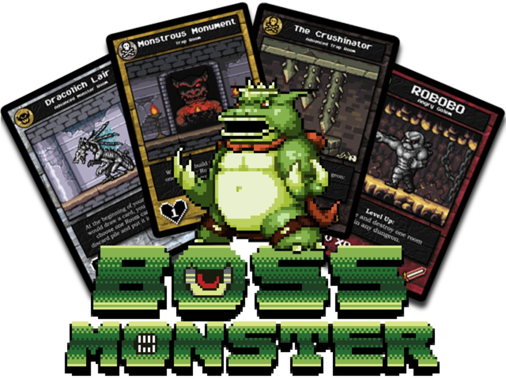 Boss Monster: the Dungeon-Building Card Game's video poster