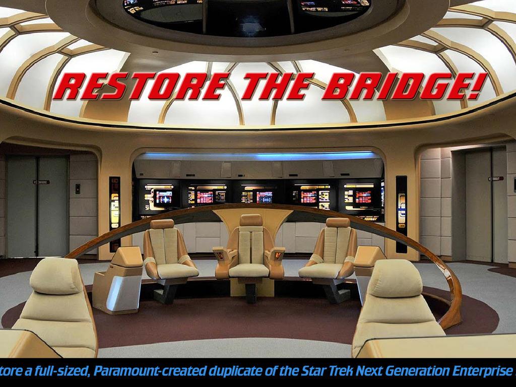 Star Trek Enterprise BRIDGE INTERACTIVE MUSEUM's video poster