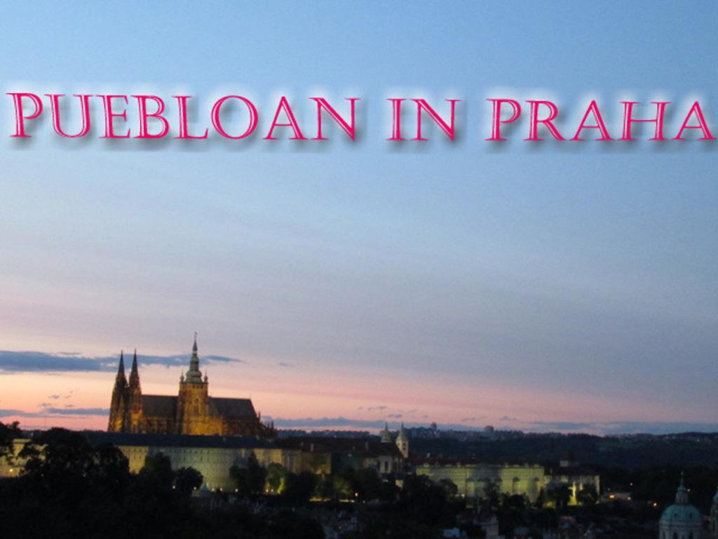 Puebloan in Praha's video poster