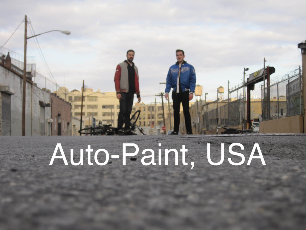 Auto-Paint, USA's video poster