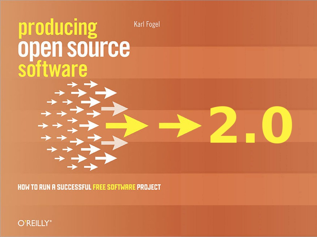 """Updating """"Producing Open Source Software"""" for 2nd Edition's video poster"""