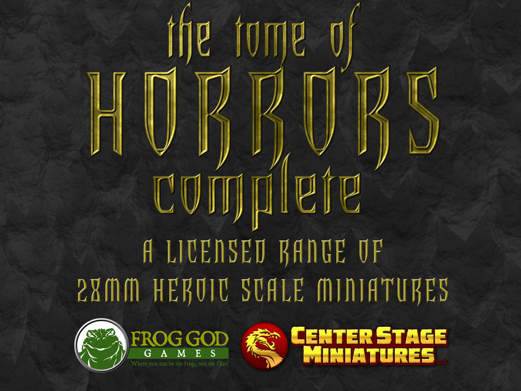 Tome of Horrors Complete - 28mm Heroic Scale Miniatures's video poster