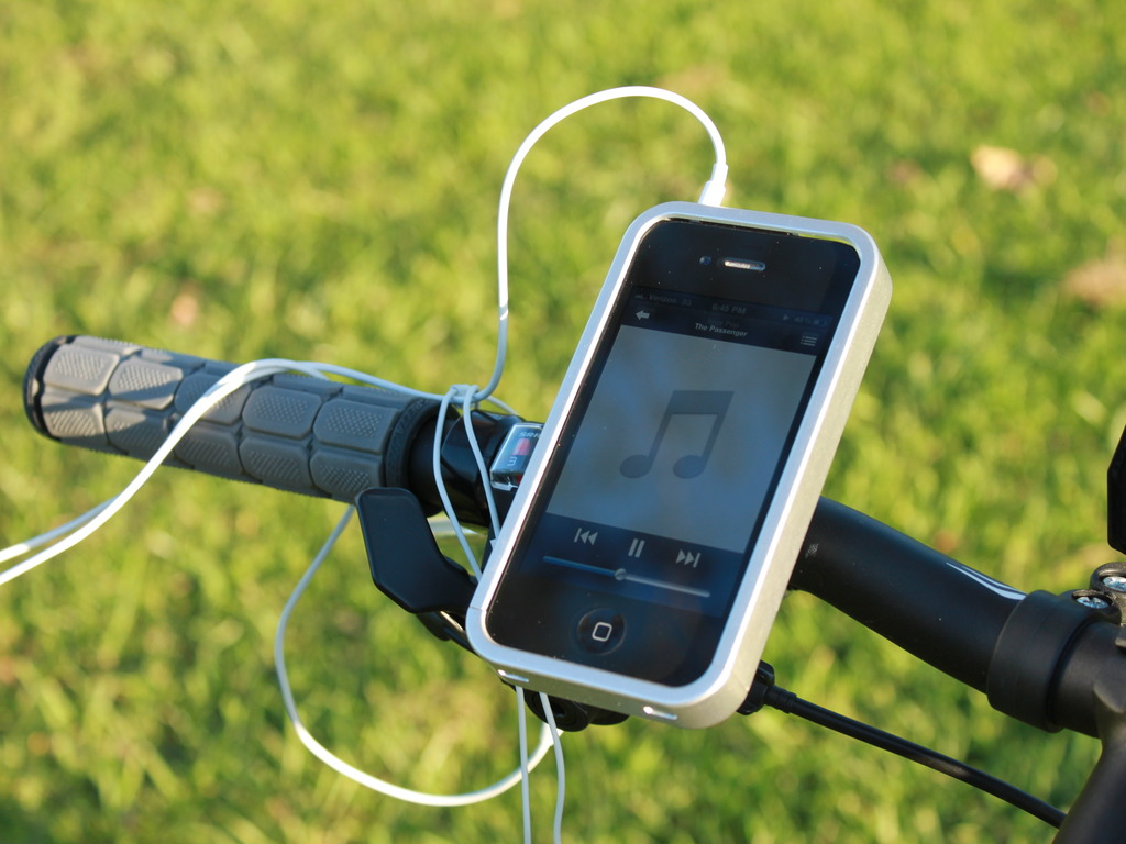 pHOLD - Bike Mount Holder for iPhone 4's video poster