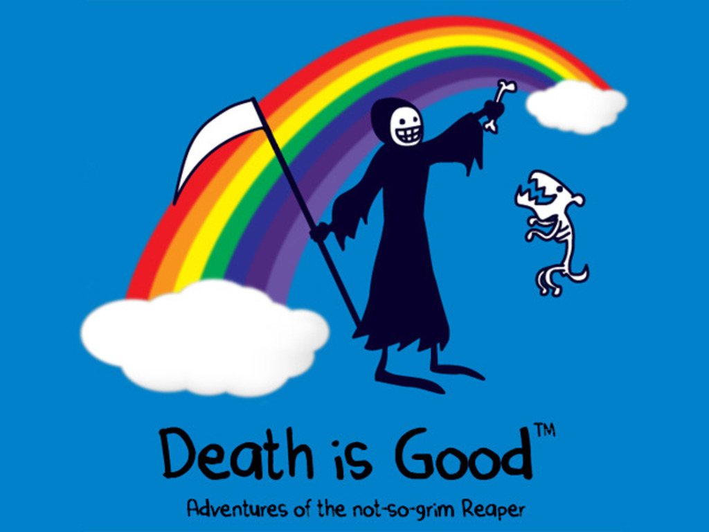Death is Good: Adventures of the not-so-grim Reaper book's video poster