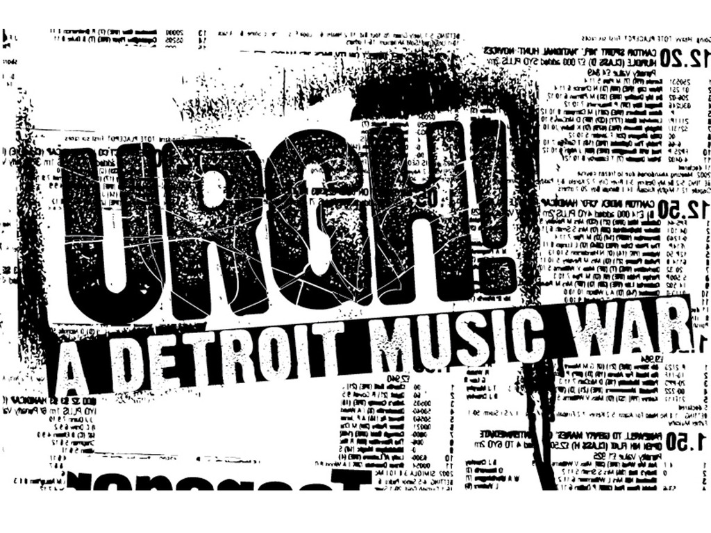 URGH! A Detroit Music War's video poster