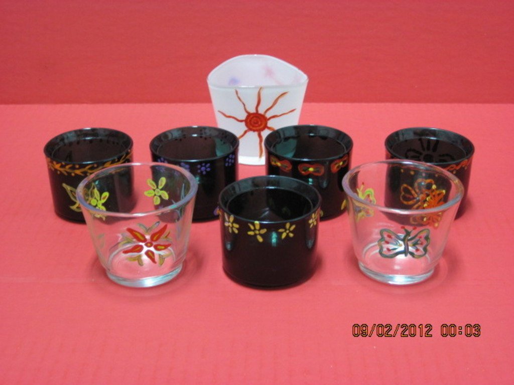 An elegent idea - hand crafted & painted tea light holders's video poster
