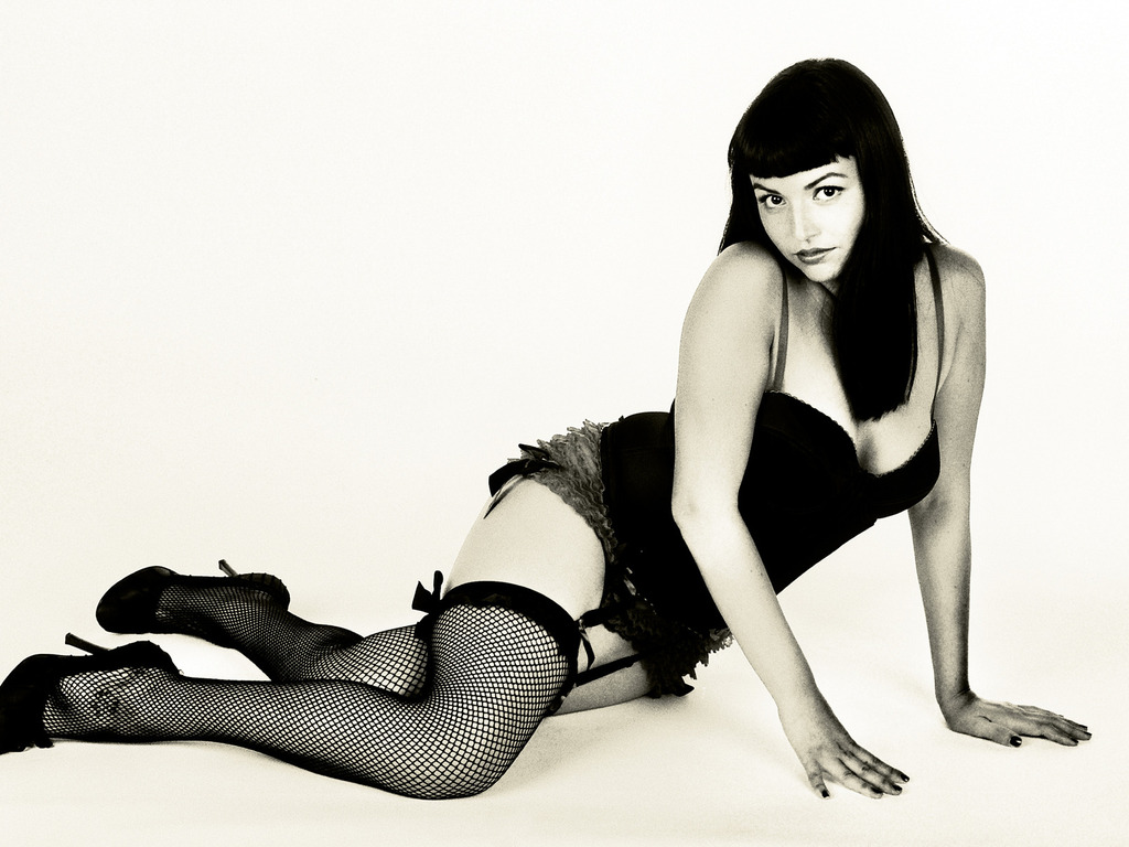 2013 Classic Pin Up photography calendar's video poster