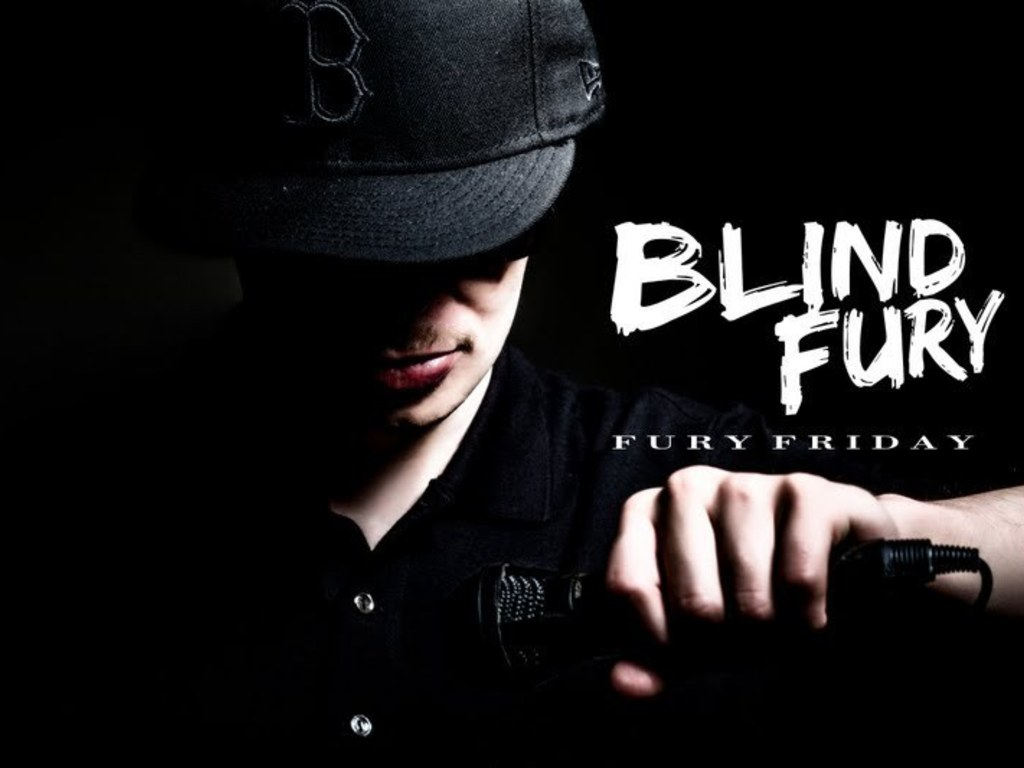 "BLIND FURY  album ""Young And Gifted Always"" (Y.A.G.A.)'s video poster"
