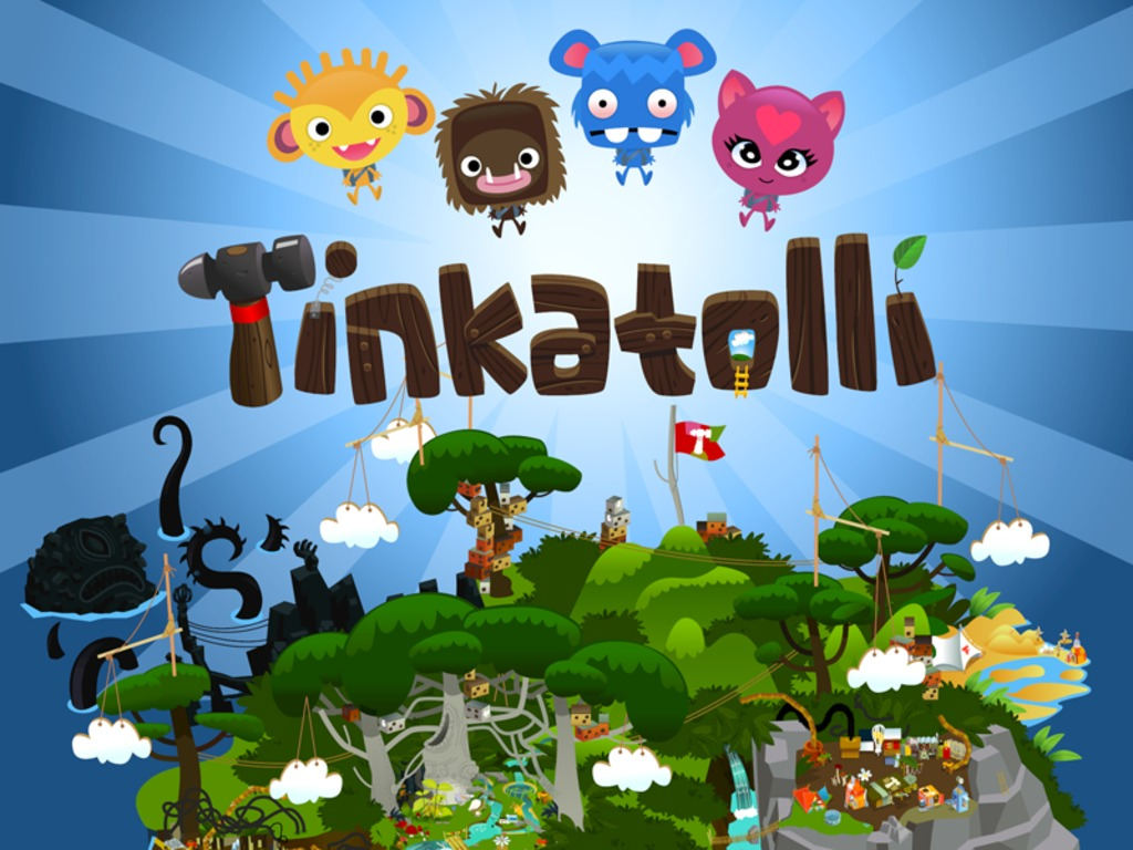 Tinkatolli! The unbelievably creative virtual world for kids's video poster