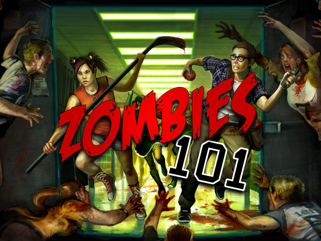 Zombies 101 – A Horror Board & Card Game for 2-4 Players's video poster
