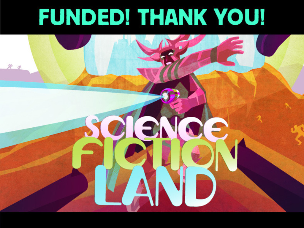 SCIENCE FICTION LAND {A Stranger Than Fiction Doc}'s video poster