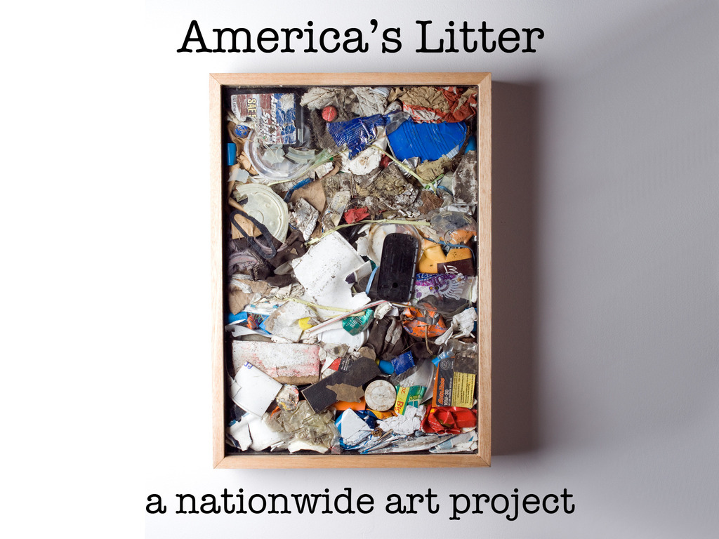 America's Litter: A Nationwide Art Project's video poster