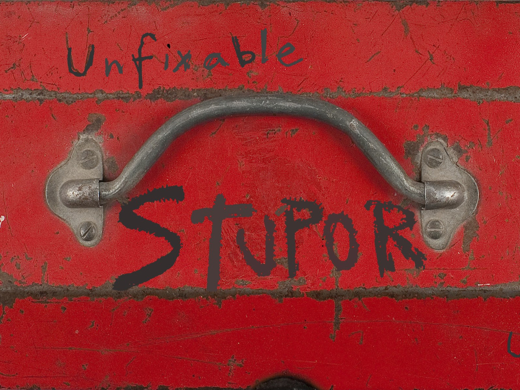 STUPOR: UNFIXABLE with artist Jessica Frelinghuysen's video poster