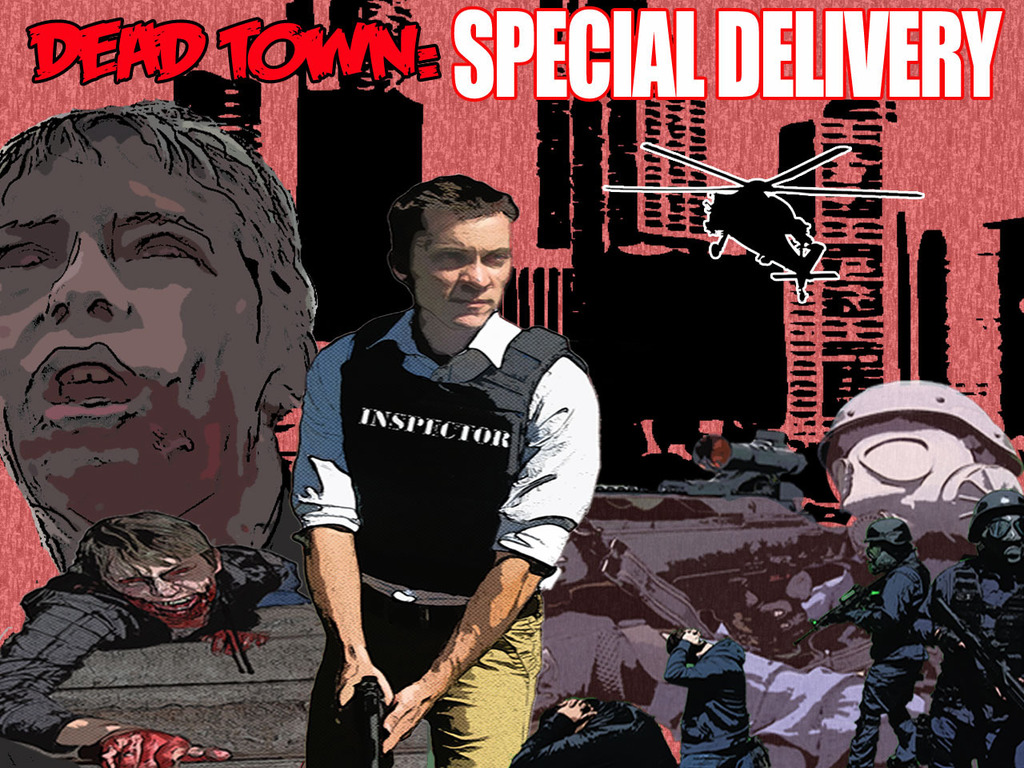 Dead Town: Special Delivery, Postal Inspector vs Zombies's video poster