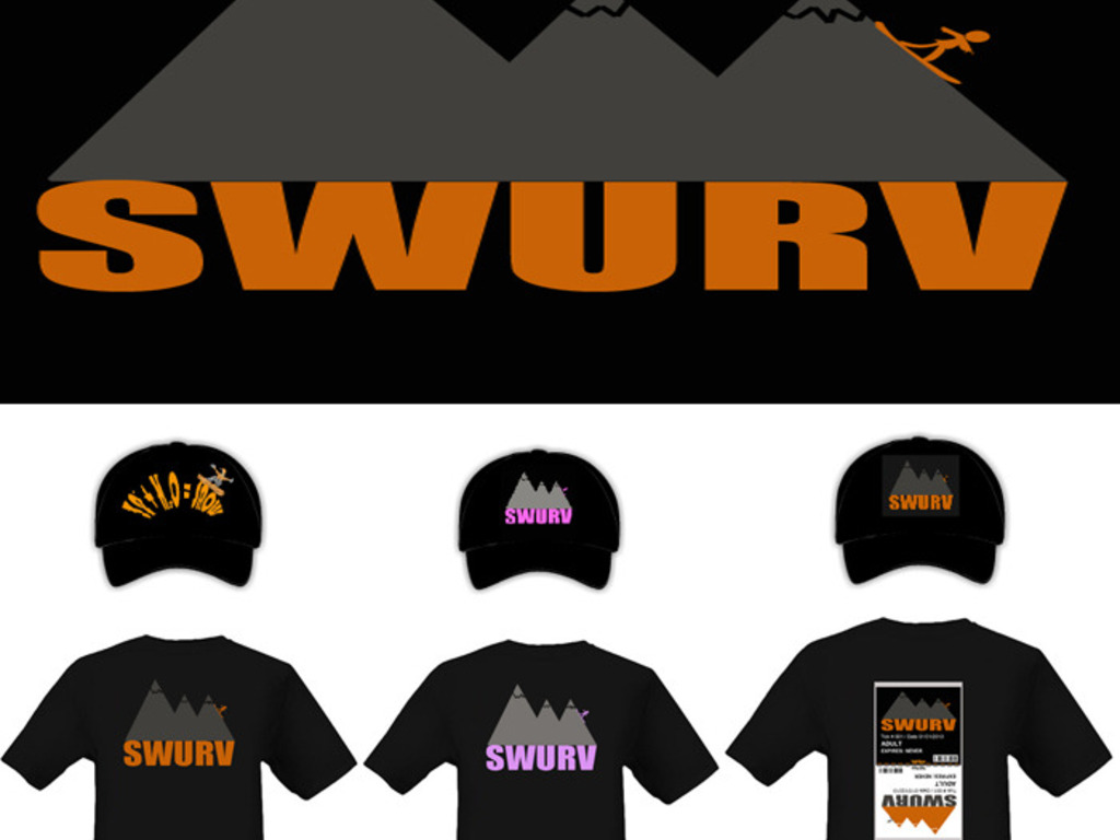 SWURV: The New X-Sports / Snowboarding Lifestyle Brand!'s video poster