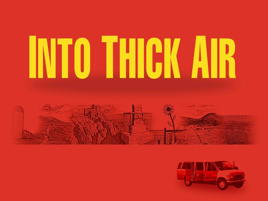INTO THICK AIR Festival Run's video poster
