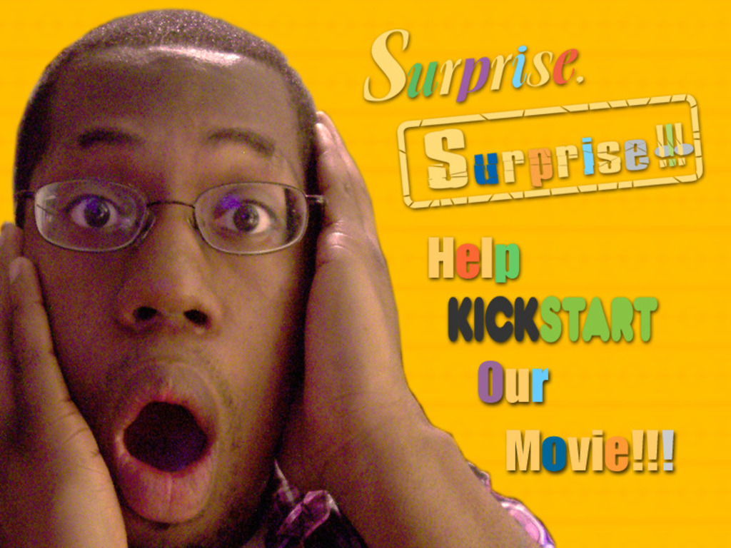 """Be a part of """"Surprise, Surprise!!!""""  A New Romantic Comedy's video poster"""