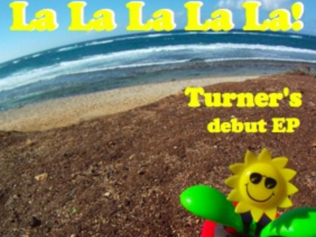 Turner's debut singer/songwriter EP's video poster