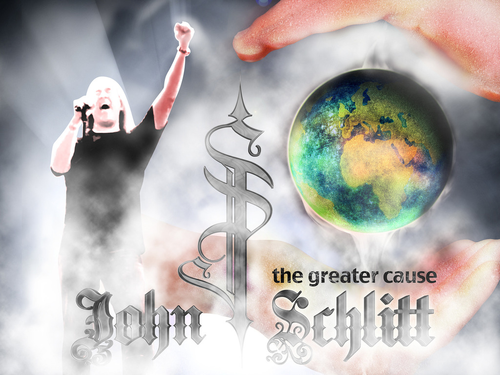 """John Schlitt Rock CD – """"The Greater Cause""""'s video poster"""