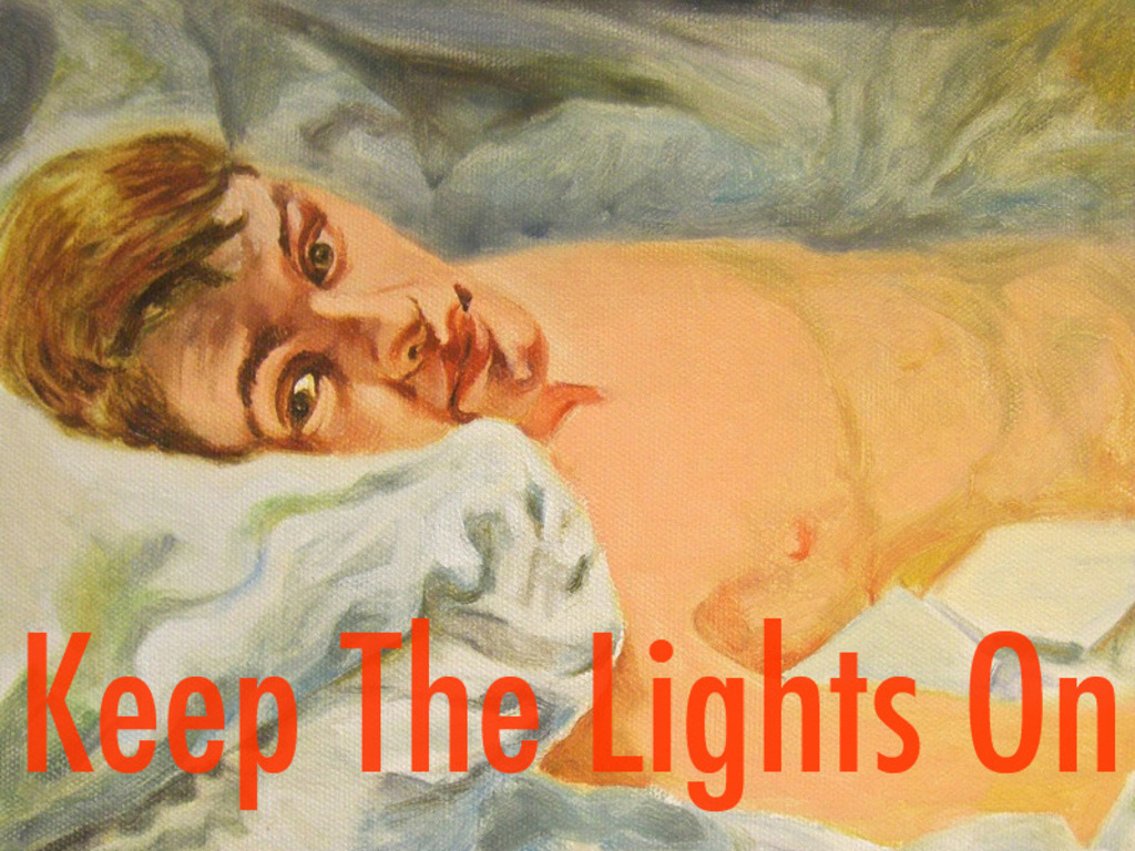 KEEP THE LIGHTS ON's video poster