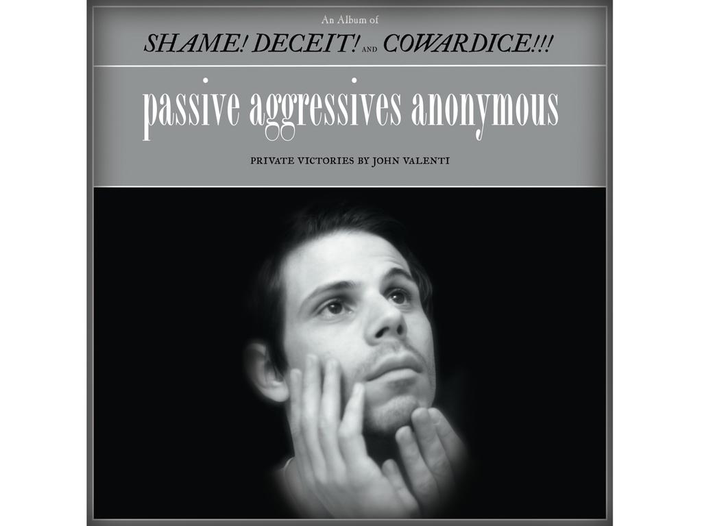 John Valenti's New Album - Passive Aggressives Anonymous's video poster