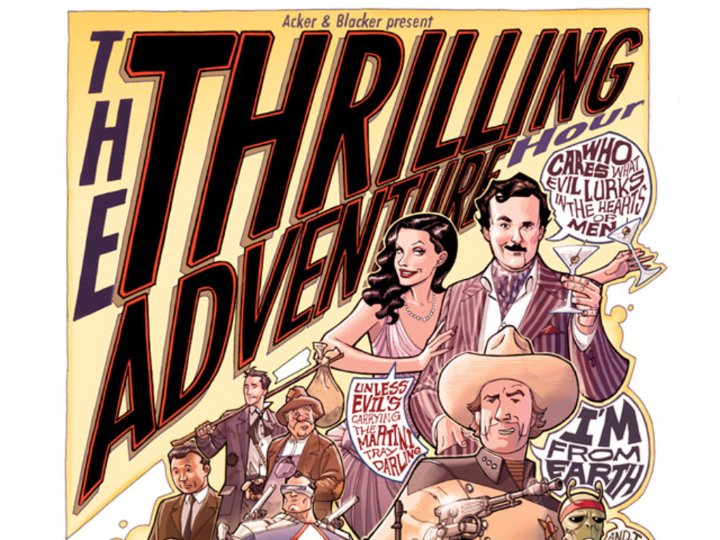 Thrilling Adventure Hour: The Graphic Novel... And Beyond!'s video poster
