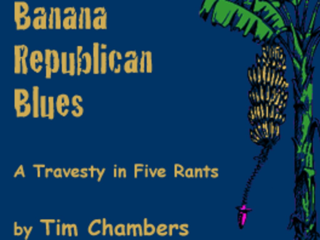 Banana Republican Blues: A Literary Entertainment.'s video poster
