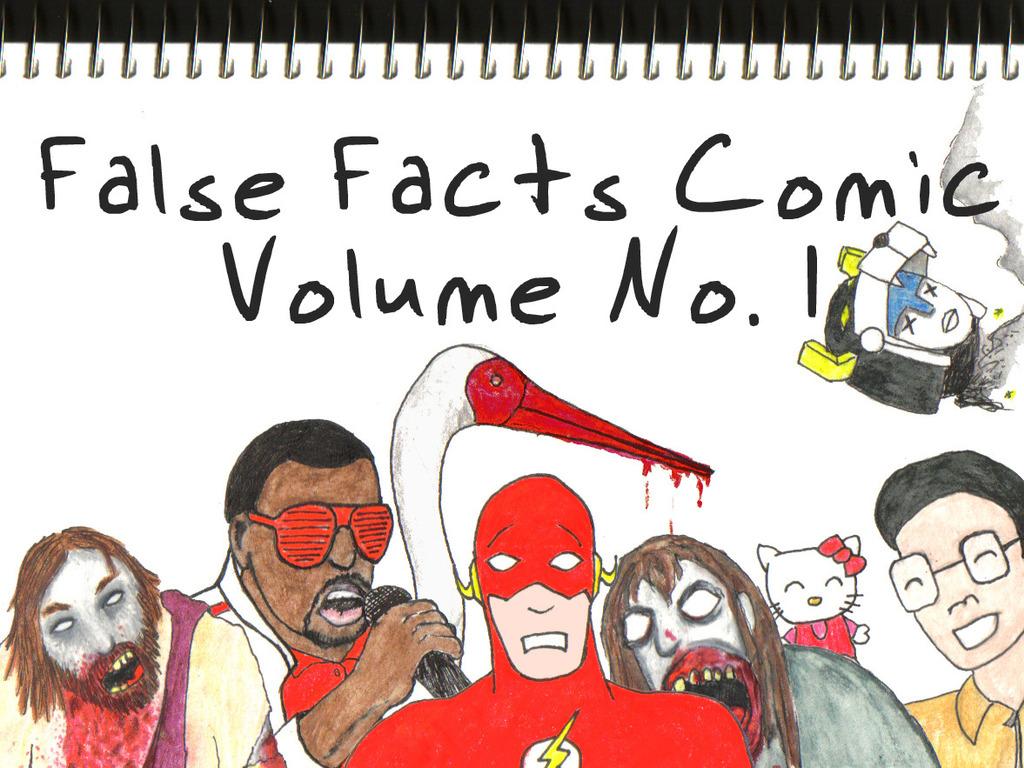 False Facts Comic - Volume No. 1's video poster