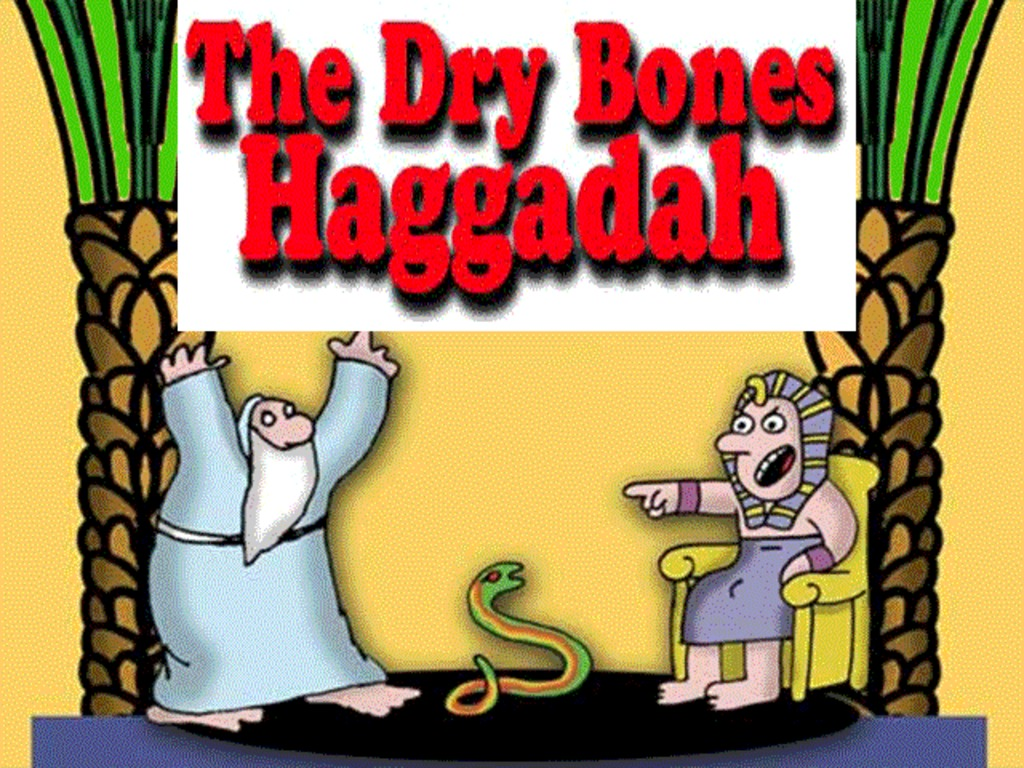 the Dry Bones Passover Haggadah by Yaakov Kirschen's video poster