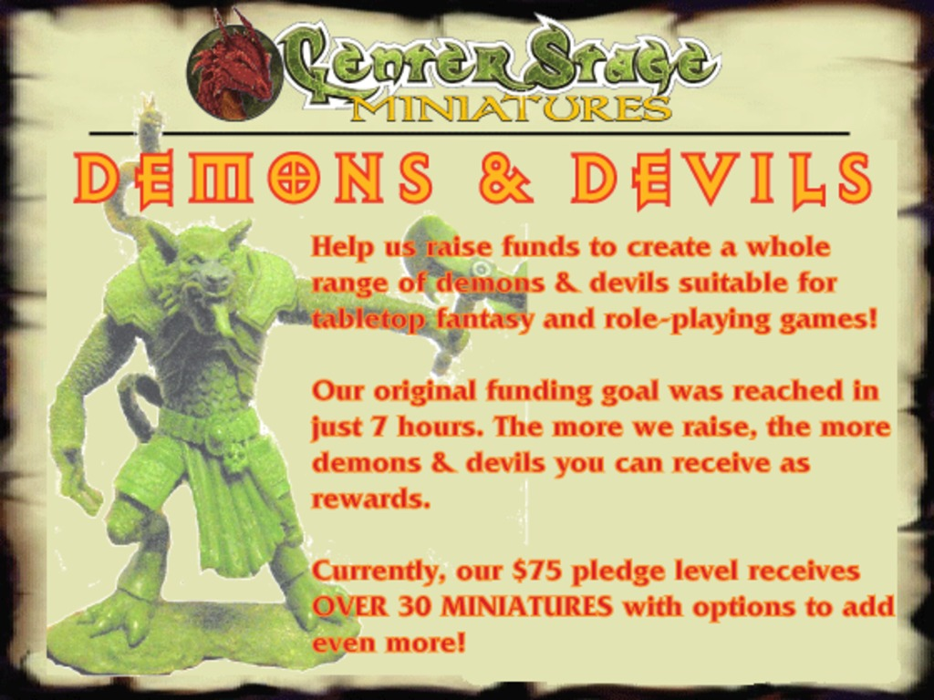 28mm Demons & Devils - Center Stage Miniatures's video poster