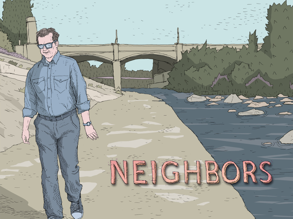 NEIGHBORS - Not your Daddy's mid-life-crisis movie!'s video poster