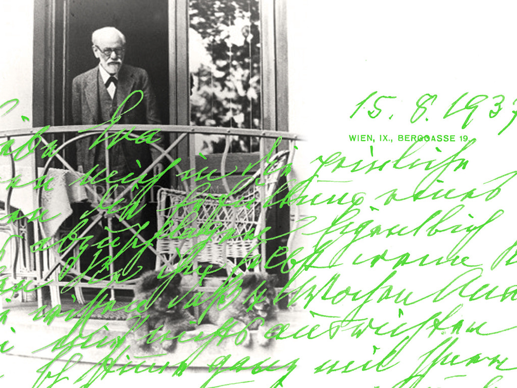 Sigmund Freud Typeface - A Letter to your Shrink.'s video poster