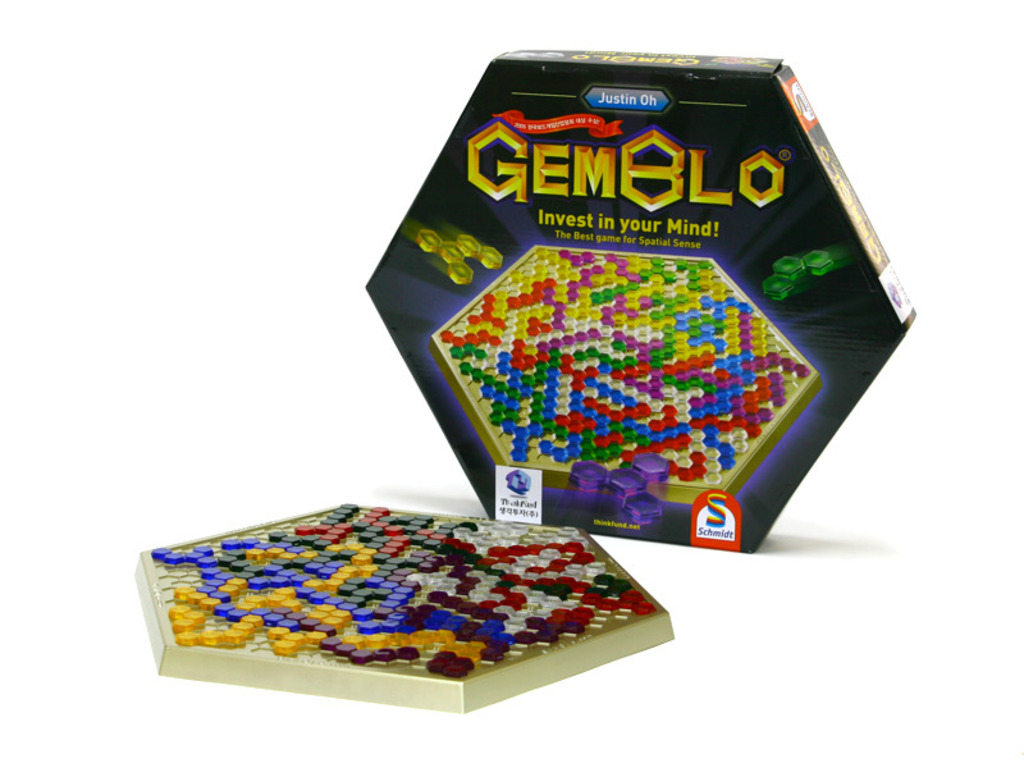 GEMBLO – The Greatest Korean Abstract Strategy Board Game!'s video poster