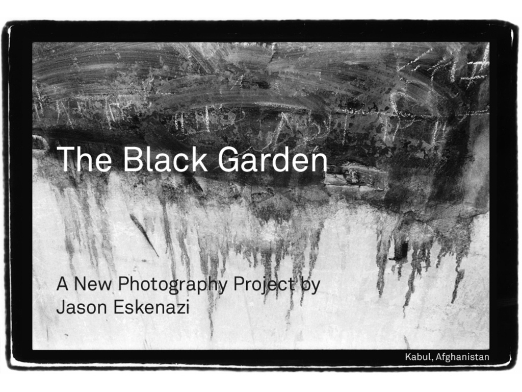 The Black Garden - A New Photography Project's video poster