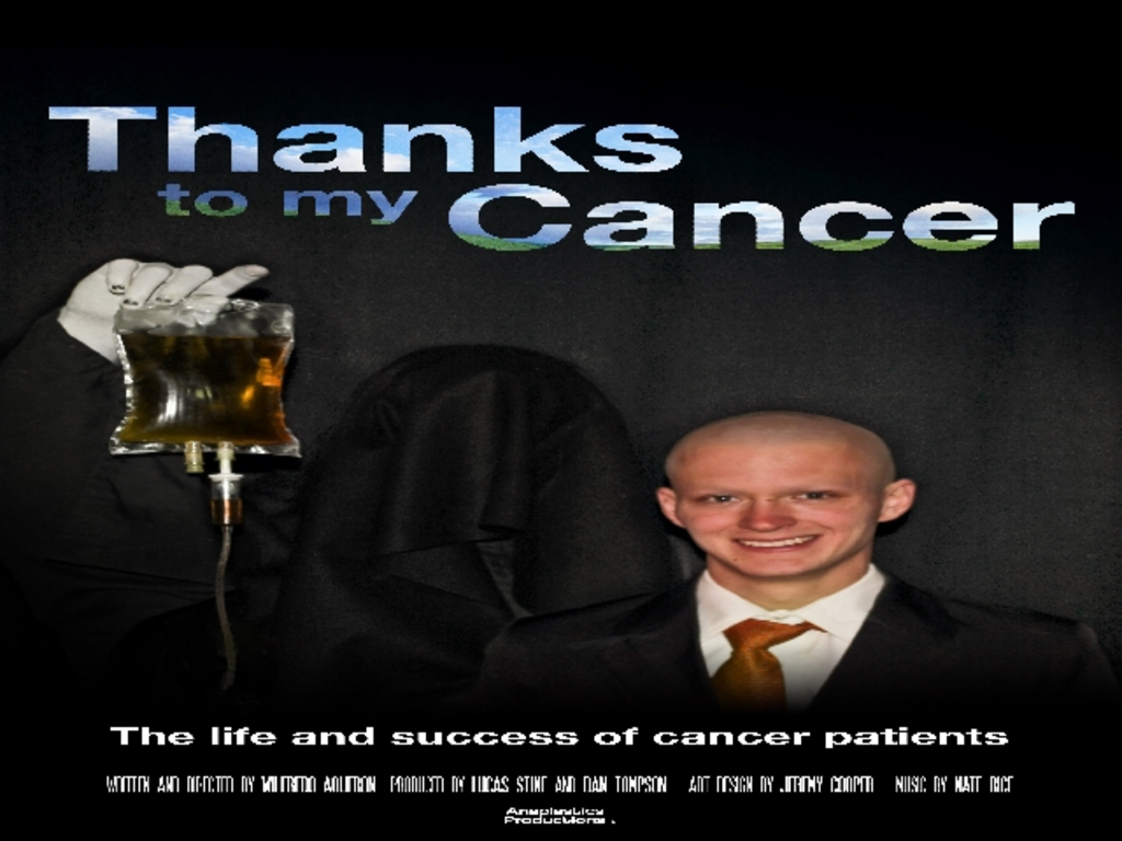 Zombies, Kung Fu and Cancer patients together in Documentary's video poster