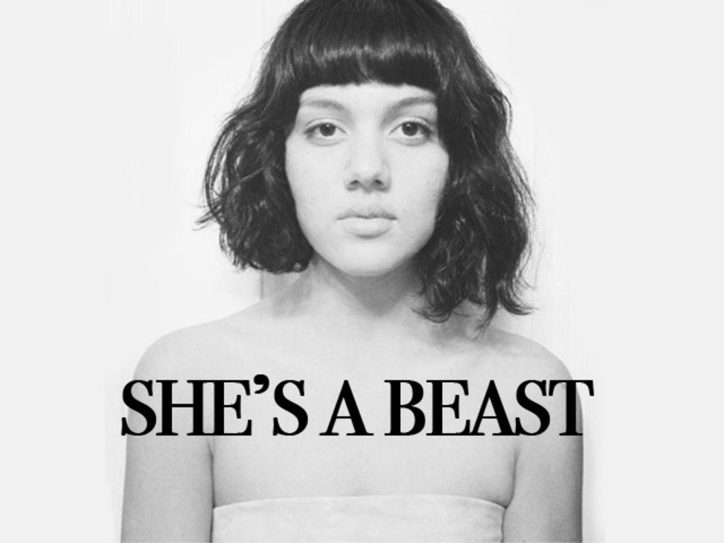 She's a Beast: A Short Film's video poster