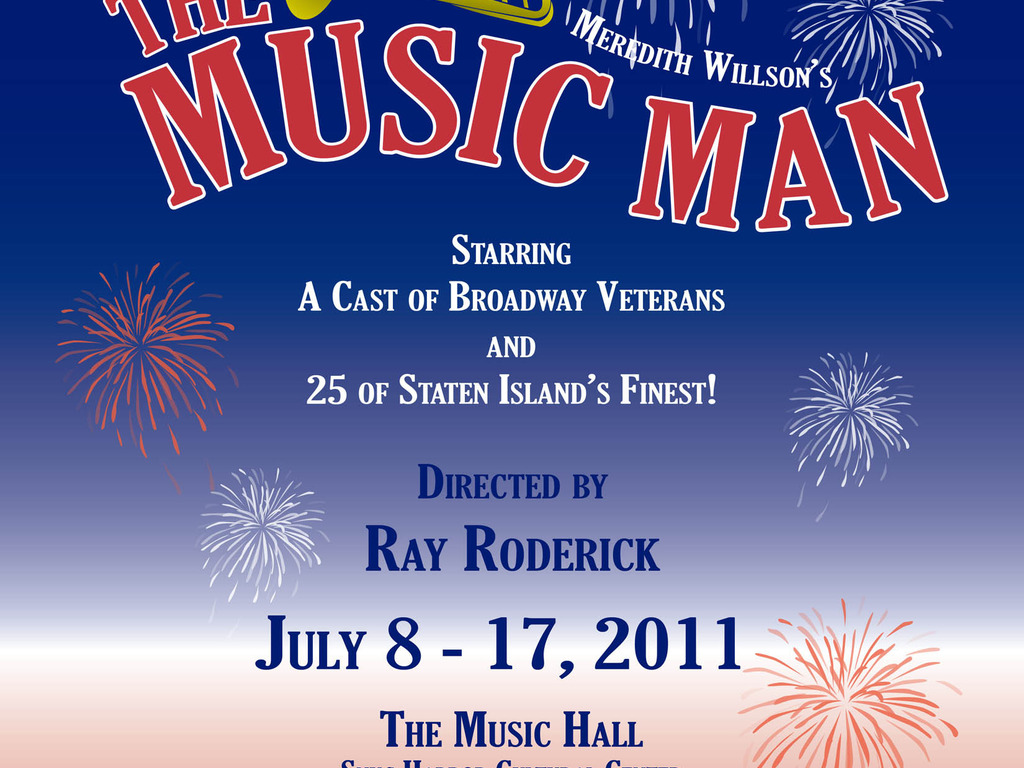 THE MUSIC MAN presented by The HARBOR LIGHTS Theater Company's video poster